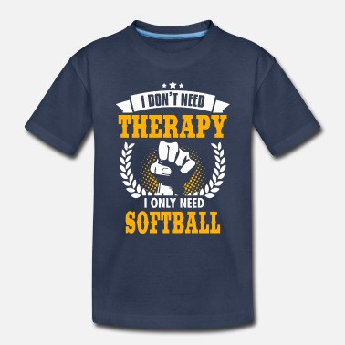 Softball Softball - Toddler Premium T-Shirt