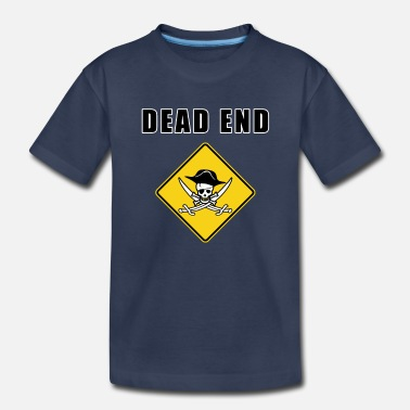 Eye-patch dead end pirate - Toddler Premium T-Shirt