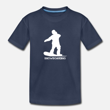 Boards Snowboard Board Boarder Snowboarding Boarding - Toddler Premium T-Shirt