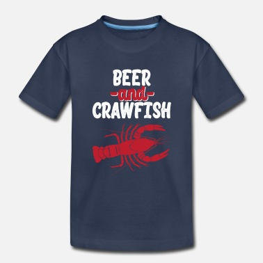 Captain Beer And Crawfish Shirt Gift - Toddler Premium T-Shirt