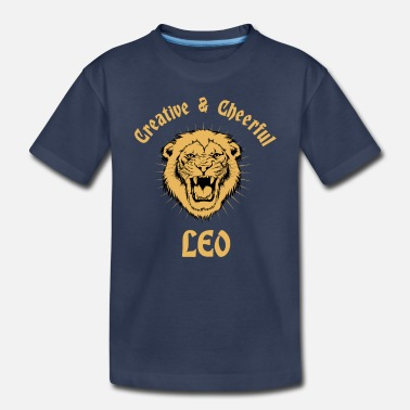 Leo Leo Zodiac Creative Lion Birthday Astrology Sign - Toddler Premium T-Shirt