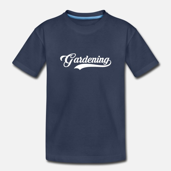 Garden Baby Clothing - Gardening - Toddler Premium T-Shirt navy