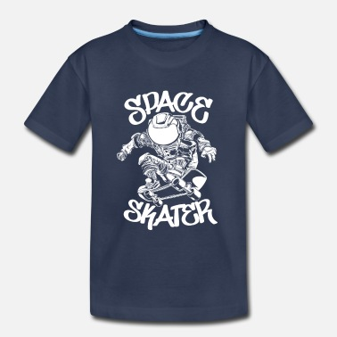 Skateboard Space Skater - Toddler Premium T-Shirt