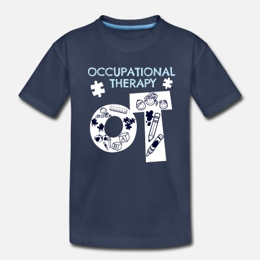 Occupation Awesome Occupational Therapist Print Occupational - Toddler Premium T-Shirt
