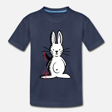 Backside Ripper bunny (front, B, 3c) - Toddler Premium T-Shirt