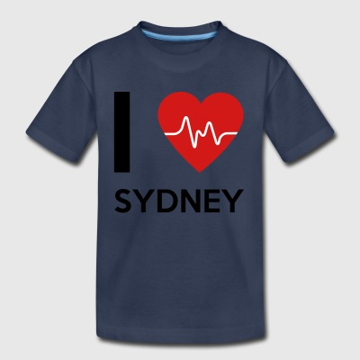 I Love Sydney - Toddler Premium T-Shirt
