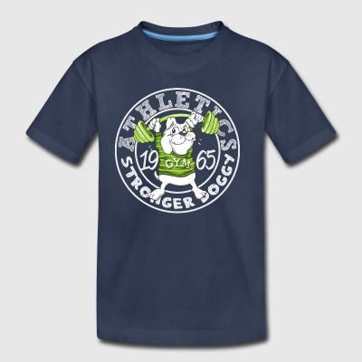 athletics_funny_dog - Toddler Premium T-Shirt