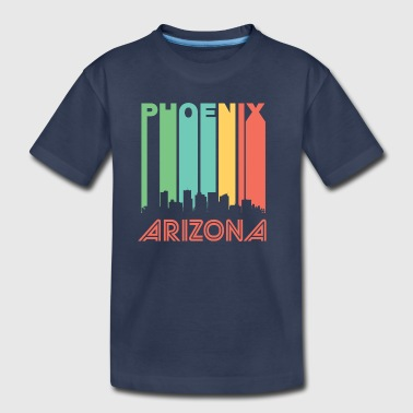 Retro Phoenix Skyline - Toddler Premium T-Shirt
