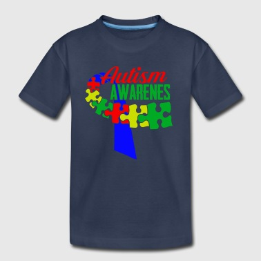 Autism Awareness Ribbon Tshirts - Toddler Premium T-Shirt