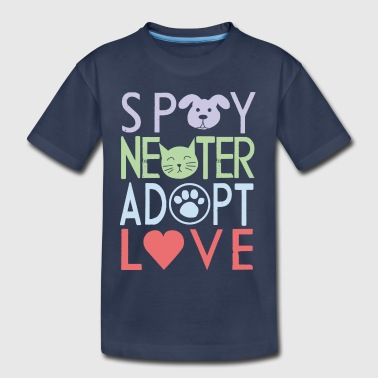 adopt a pet - don't shop - Toddler Premium T-Shirt