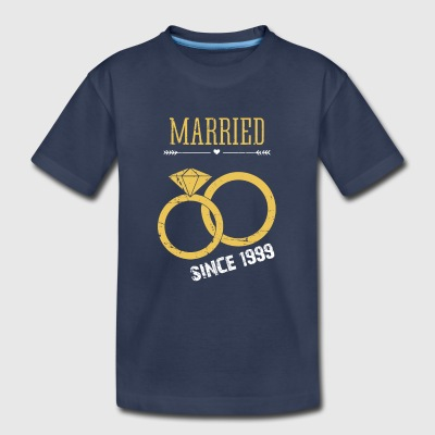 Married since 1999 - Toddler Premium T-Shirt