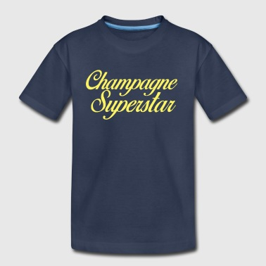 Champagne Superstar - Toddler Premium T-Shirt