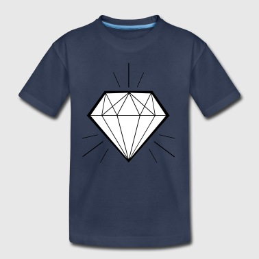 Diamond bling bling - swaggy - Toddler Premium T-Shirt