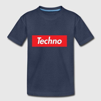 Supreme Techno Homage - Toddler Premium T-Shirt
