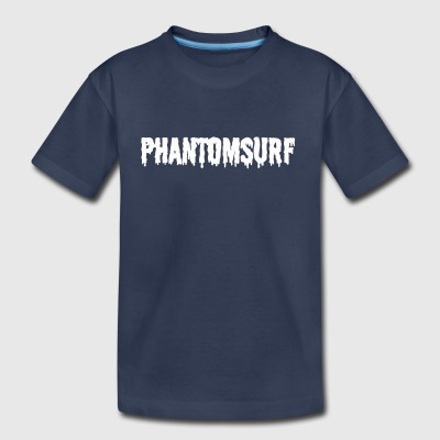 Phantomsurf white sludge logo - Toddler Premium T-Shirt