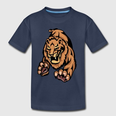 predator_tiger_attacking - Toddler Premium T-Shirt