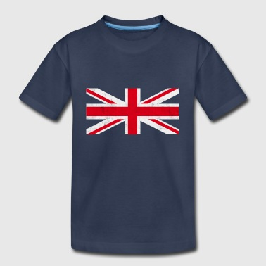Vintage Union Jack - Toddler Premium T-Shirt