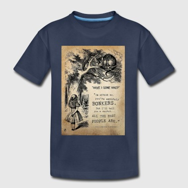 Alice and the Cheshire Cat - Toddler Premium T-Shirt