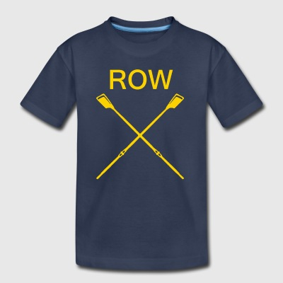 Rowing - Toddler Premium T-Shirt