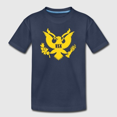 USA Eagle, Mision Militar ™ - Toddler Premium T-Shirt