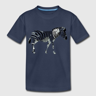 Zebra - Toddler Premium T-Shirt
