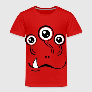 Grinning Stalker Monster - Toddler Premium T-Shirt