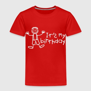It's my birthday - Boy - Toddler Premium T-Shirt