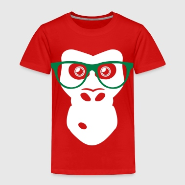 Ape with glasses - Toddler Premium T-Shirt