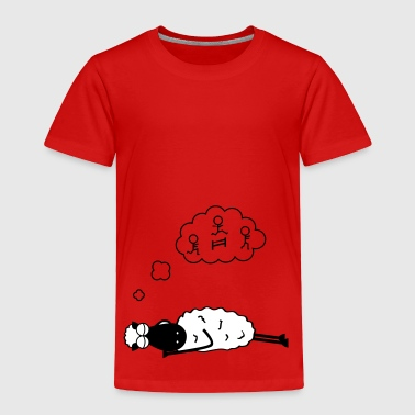 Sleeping Sheep - Toddler Premium T-Shirt