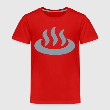 Onsen ♨ Hot Spring 温泉 Japanese Sign - Toddler Premium T-Shirt