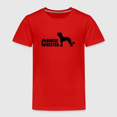 chinese crested dog - Toddler Premium T-Shirt
