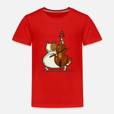 Cello Friday Cat №24 - Toddler Premium T-Shirt