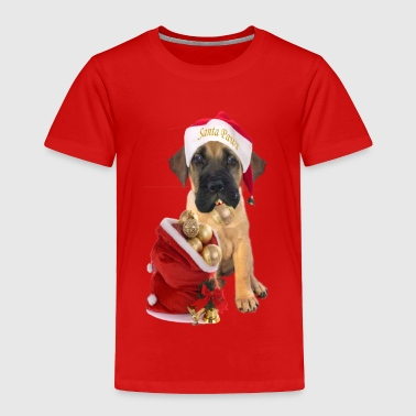 MASTIFF PUPPY XMAS - Toddler Premium T-Shirt