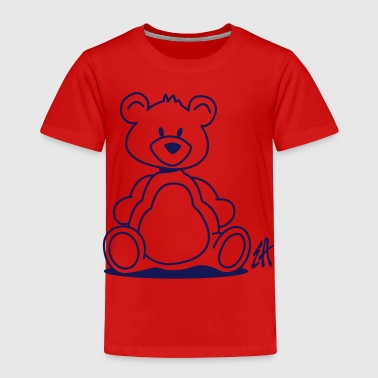 Adults Teddy Bear Teddy bear - Toddler Premium T-Shirt
