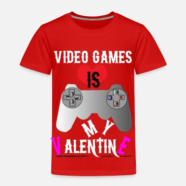 Gamer gamer valentine t-shirt - Toddler Premium T-Shirt