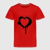 graffiti valentine's day heart - Toddler Premium T-Shirt