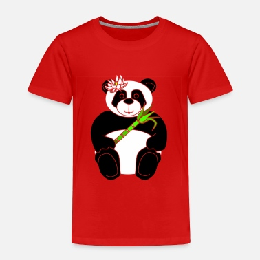 Panda Panda Girl - Toddler Premium T-Shirt