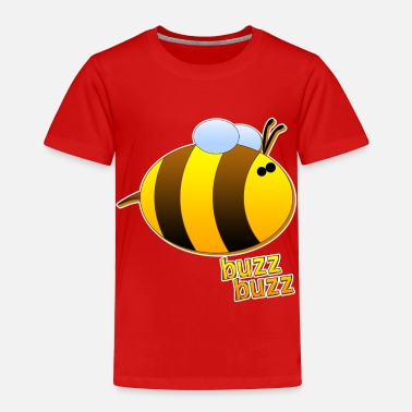 Buzz Buzz Buzz the Bumblebee - Toddler Premium T-Shirt