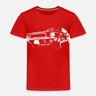 Vintage classic US car - Toddler Premium T-Shirt