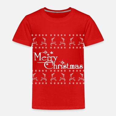 Christmas Merry Christmas - Toddler Premium T-Shirt