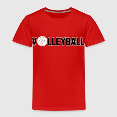 Volleyball Players Volleyball - Toddler Premium T-Shirt