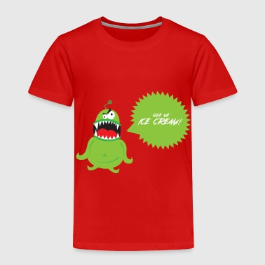 Ice Cream Monster - Toddler Premium T-Shirt