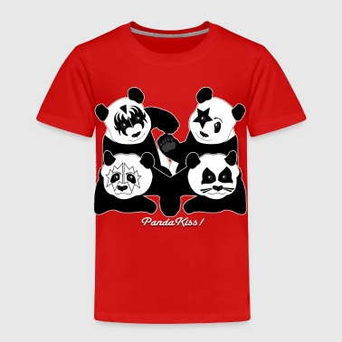 PANDA KISS! - Toddler Premium T-Shirt
