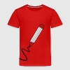 pencil scribble - Toddler Premium T-Shirt