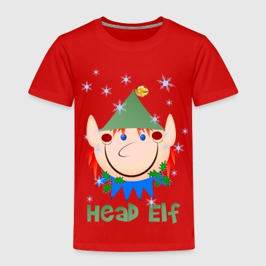 Head Elf - Toddler Premium T-Shirt