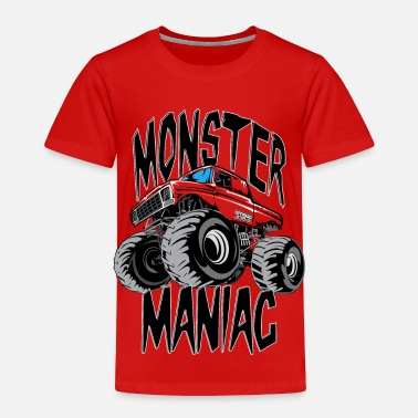 Freestyle Monster Truck Maniac BIG - Toddler Premium T-Shirt
