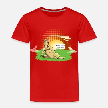 Kiwi Oz VS NZ - Toddler Premium T-Shirt