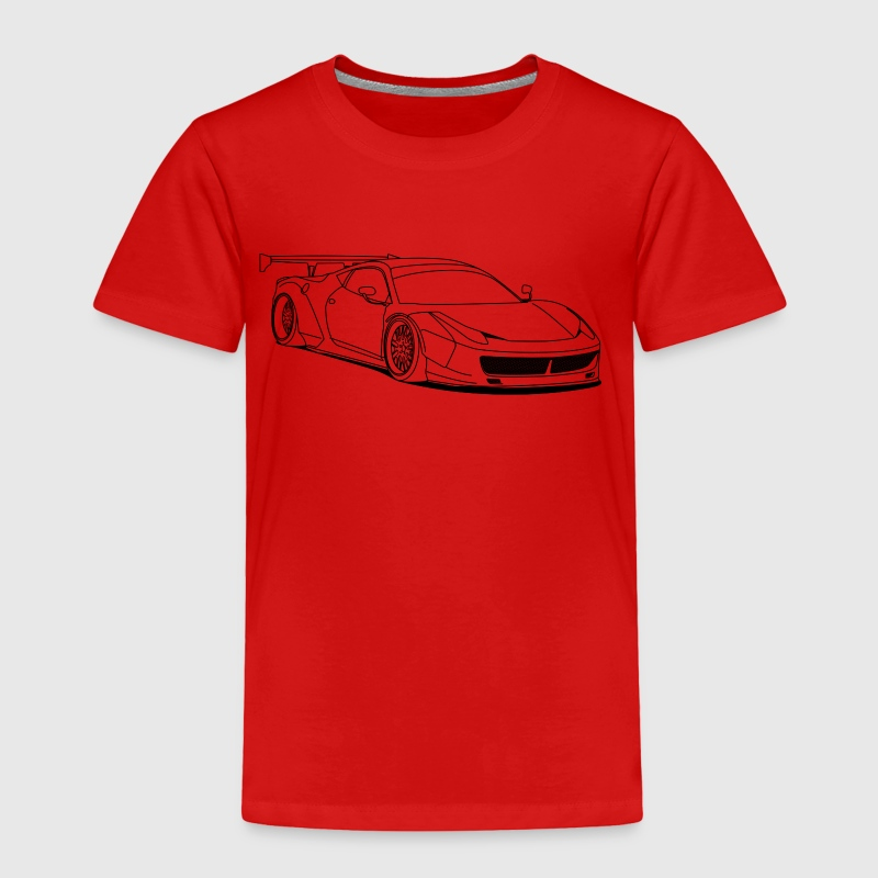 custom car outlines - Toddler Premium T-Shirt