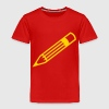 Pencil Outline - Toddler Premium T-Shirt