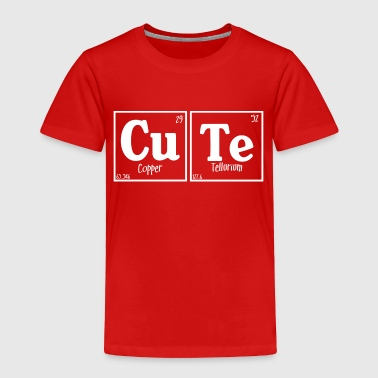Cute (dark) - Toddler Premium T-Shirt